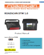 Roadscan DTW manual